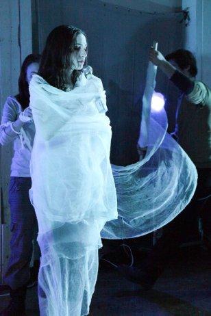 "Christiana as Eva in ""Original Innocence."" Photo by Zack Finkelstein."