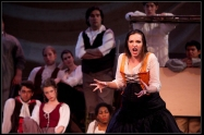 """Christiana as Lucy Lockit in """"The Beggar's Opera."""" Photo by Brian Hatton."""