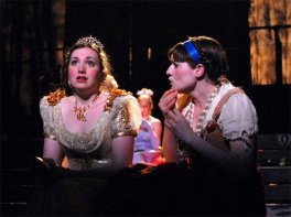 "Christiana as Cinderella in ""Into the Woods"""