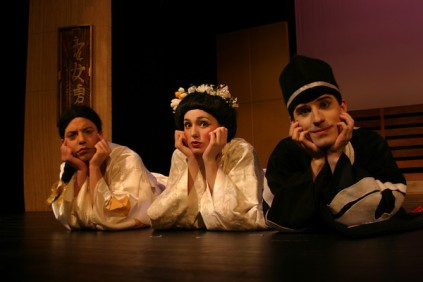 "Christiana as Yum-Yum in ""The Mikado."" Photo by Cecily Johnson."