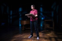 As Alison in Fun Home at Theatre Squared. Photo by Wesley Hitt.