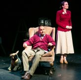 "Christiana Cole and Rajesh Bose in ""Carousel of Progress"" at the Queens Theatre."