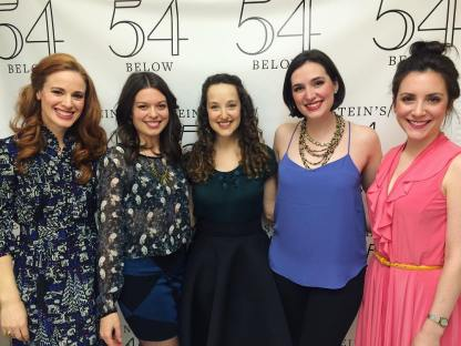 "With ""Pride and Prejudice"" Bennet sisters Teal Wicks (Jane), Margo Seibert (Lizzy), Rita Markova (Mary), Christiana Cole (Kitty), and Jessica Fontana (Lydia)."